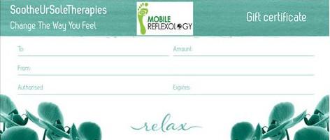 relax gift voucher
